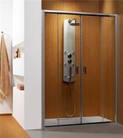 Раздвижные душевые двери Premium Plus DWD арт.33353-01-08N коричневое