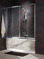 Шторки на ванну Vesta DW арт.203150-01 прозрачное