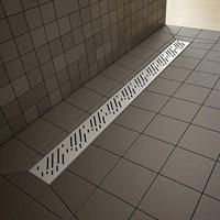 Душевая плита с линейным трапом 1090*1090 арт.5R085R