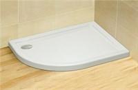 Акриловые душевые поддоны на базе из полиуретана Tasos E 100*80 правый арт.STE1086-30R белый