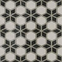 VT/A297/SG1544N Декор Фреджио 4 черно-белый 20x20x8