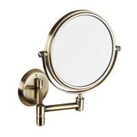 106101697 Косметическое зеркало NEW D133mm, бронза