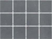 1290H Амальфи серый темный, полотно 29,8х39,8 из 12 частей 9,8x9,8x7