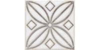 STG/A402/1266H Вставка Амальфи орнамент коричневый 9,8x9,8x7