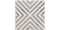 STG/A403/1266H Вставка Амальфи орнамент коричневый 9,8x9,8x7