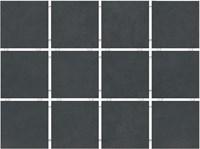 1291H Амальфи черный, полотно 29,8х39,8 из 12 частей 9,8x9,8x7