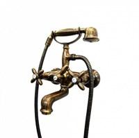 9135KM.31.023 Настенный смеситель для ванны с переключателем потертая бронза