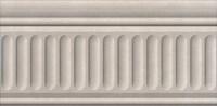 19032/3F Бордюр Александрия светлый структурированный 20х9,9х6,9 - фото 24472