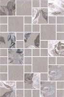 180/8266 Декор Александрия серый мозаичный 20х30х6,9 - фото 24483